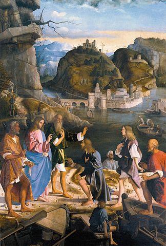 jesus calls james john zebedee