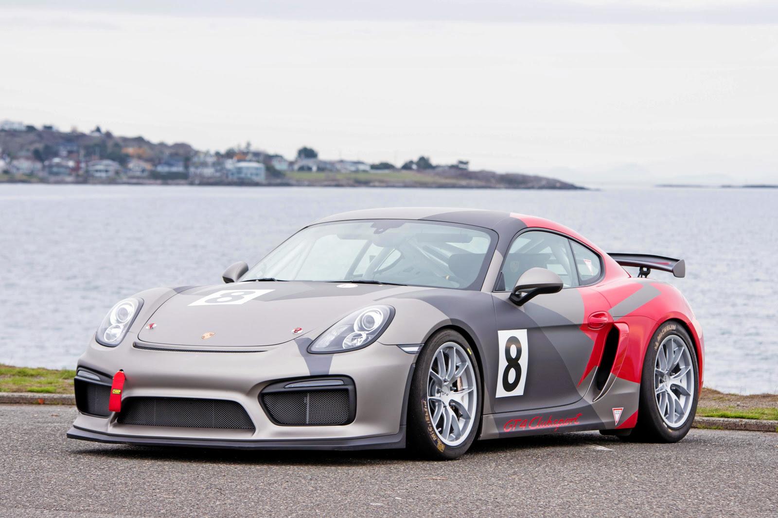 2016 Porsche Cayman Gt4 Clubsport For Sale Silver Arrow