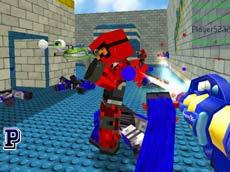 Minecraft Boya Savaşı Oyunu Oyna