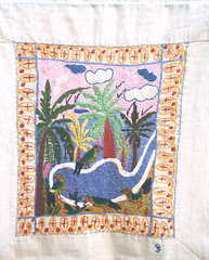 embroidery from haiti