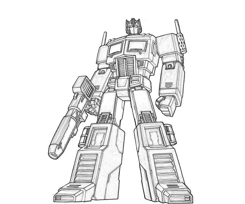 135 Dessins De Coloriage Transformers à Imprimer Sur Laguerchecom