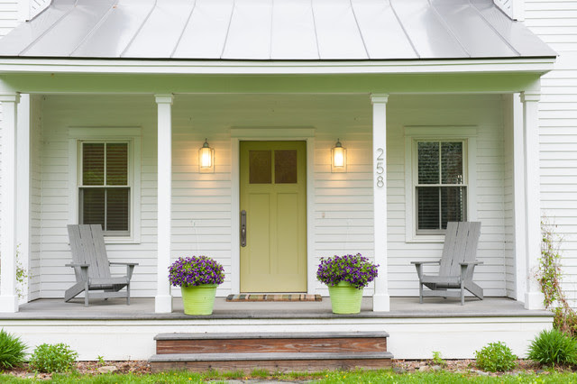 Fabulous PreFab - farmhouse - porch - other metro - by Mary Prince