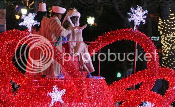 Carroza del rey Baltasar, enero 2007