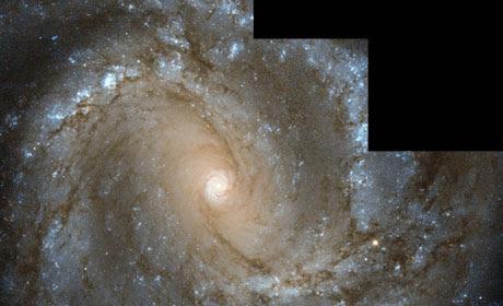 Spiral galaxy Messier 61