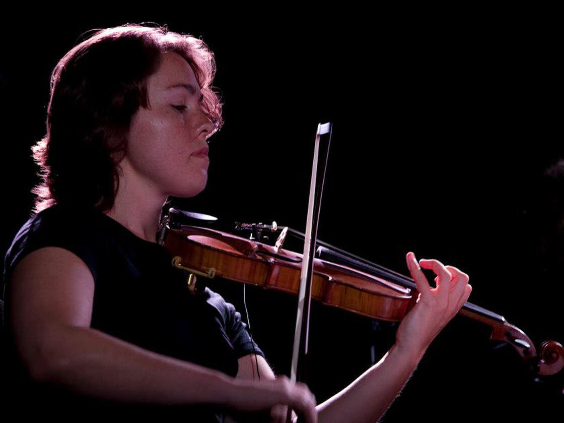 Caroline Shaw, winner of this year's music Pulitzer, performing with the ACME ensemble in New York in September 2012.