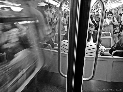 Santiago de Chile, metro, subway by Alejandro Bonilla