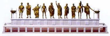 Resultado de imagen de Monumento de los Héroes Epónimos