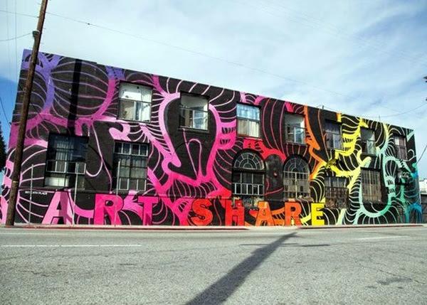 Amazing Huge Street Art on Building Walls (24)