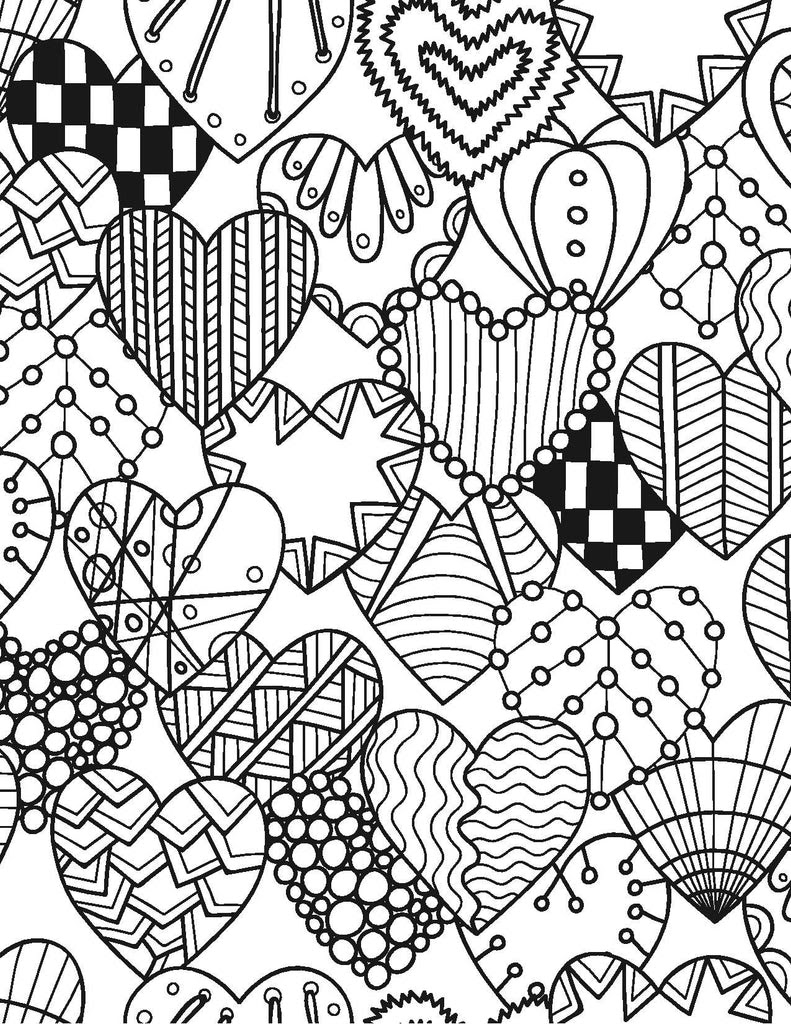 Adult Coloring for the Bride-to-Be - Live Your Life in ...