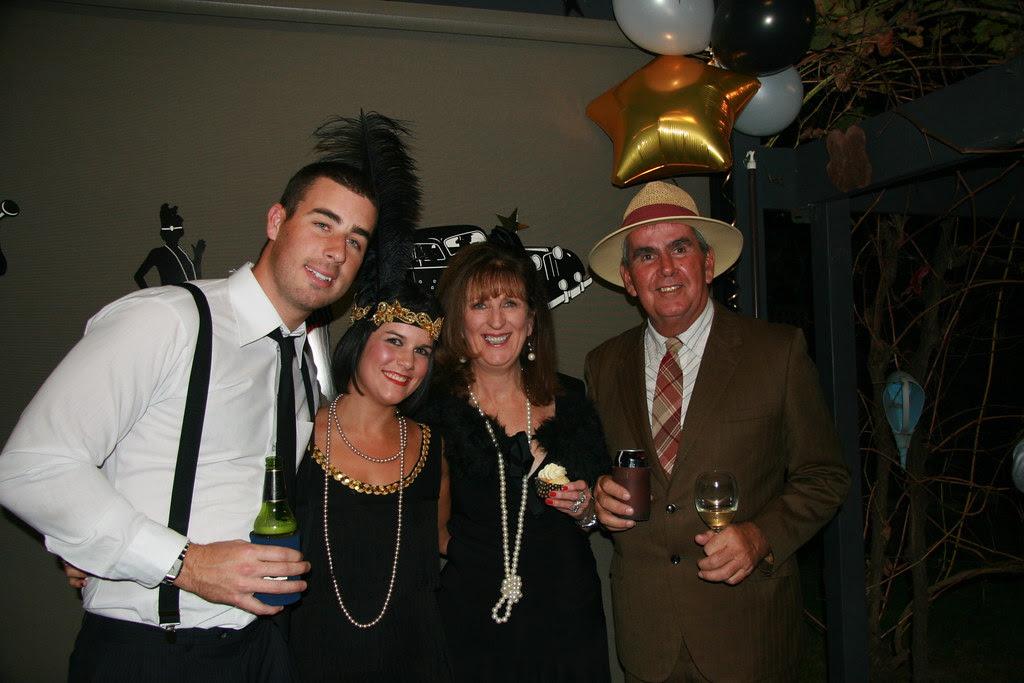 Sean, Gemma,Liz & Al