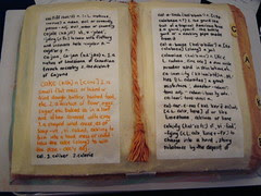 Dictionary by Amy Broomhall at Seattle Edible Book Festival