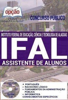 Apostila Ifal ASSISTENTE DE ALUNOS 2017
