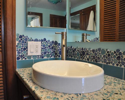 Custom Tile Bath Remodel - Ventana Construction Seattle ...