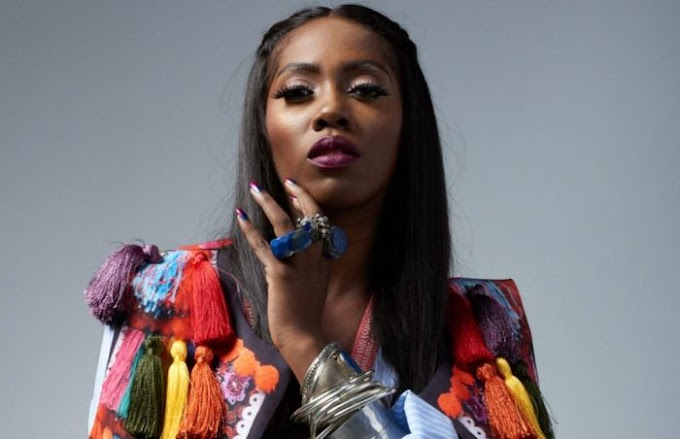 Tiwa Savage Sets Social Media On Fire With Sexy Swimwear (Photos)