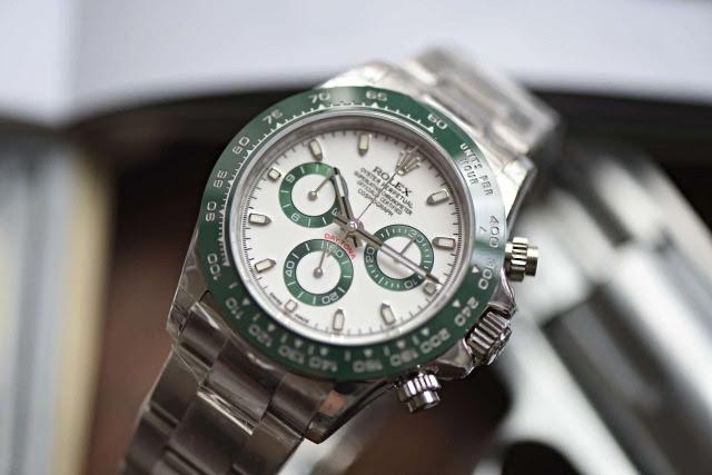 Replica Rolex Daytona Green