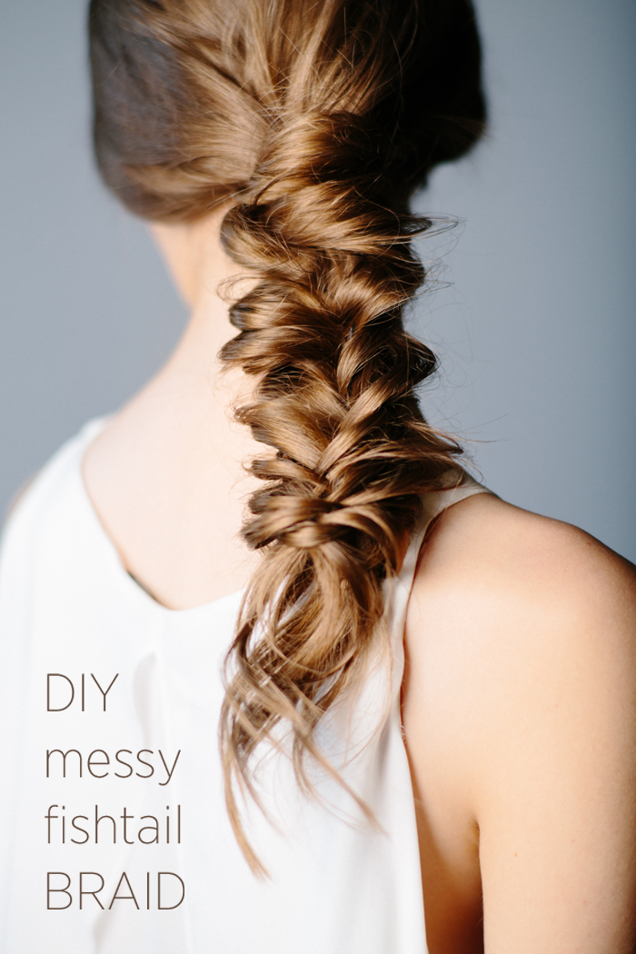 diy-messy-fishtail-braid-tutorial