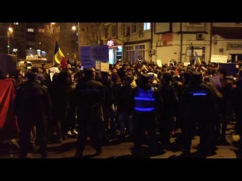 VIDEO Protest la Suceava, vineri, 3 februarie 2017