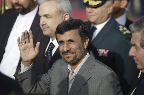 Iranian President Mahmoud Ahmadinejad paid a state visit to Lebanon where he was hailed as a major figure in regional politics in the Middle-East. The U.S. government has attempted to isolate Iran but the state has gained international acclaim. by Pan-African News Wire File Photos