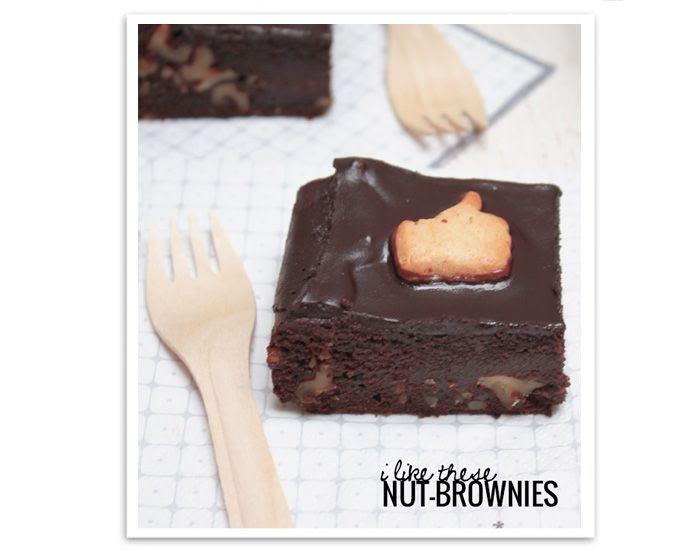 Likies Brownies Nuts Nüsse Schokolade