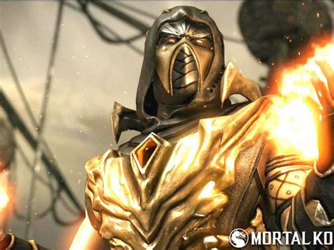 scorpion mortal kombat injustice costume hd wallpapers