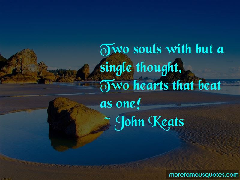 Two Hearts Beat As One Quotes Top 7 Quotes About Two Hearts Beat As
