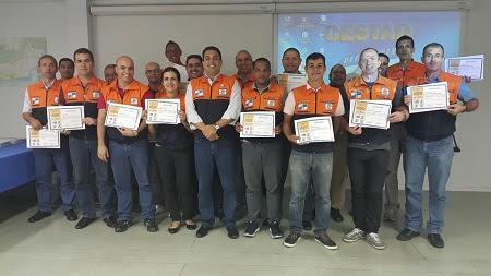 SEDEC-RJ realiza exercício prático para a construção de planos de contingência contra desastres