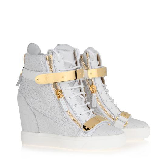 luxury sneakers female Zanotti