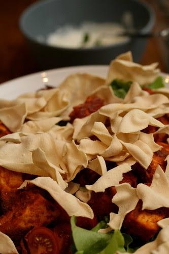 Tandoori Tofu Salad 2