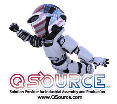 Q-Bot on the 4th of July by Q Source