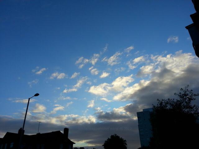 Clouds - morning walk