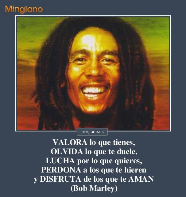 Frases De Bob Marley Con Imagenes En Espanol