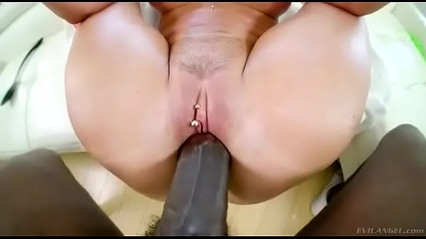 Hard fucking with big dick in small tight pussy