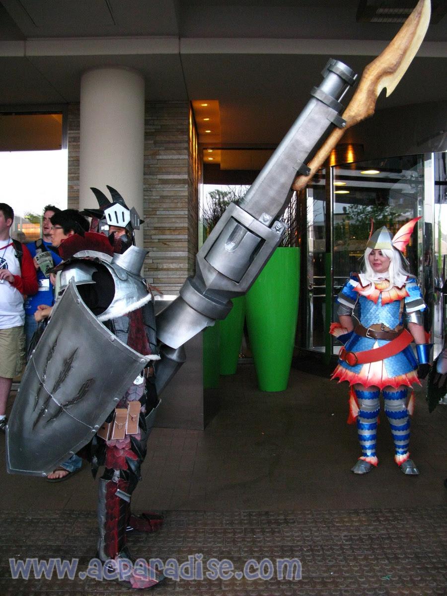 Monster Hunter Thread Irl Armor W00t Warning Pics