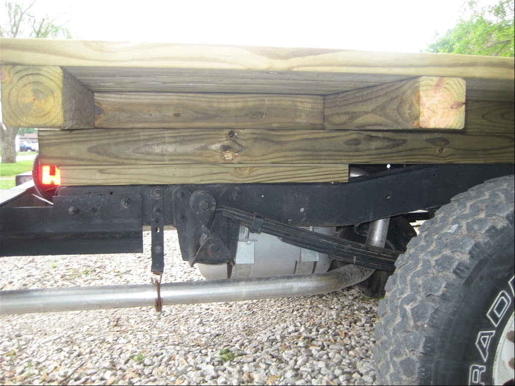 Mawood Buy Wooden Pickup Truck Bed Plans