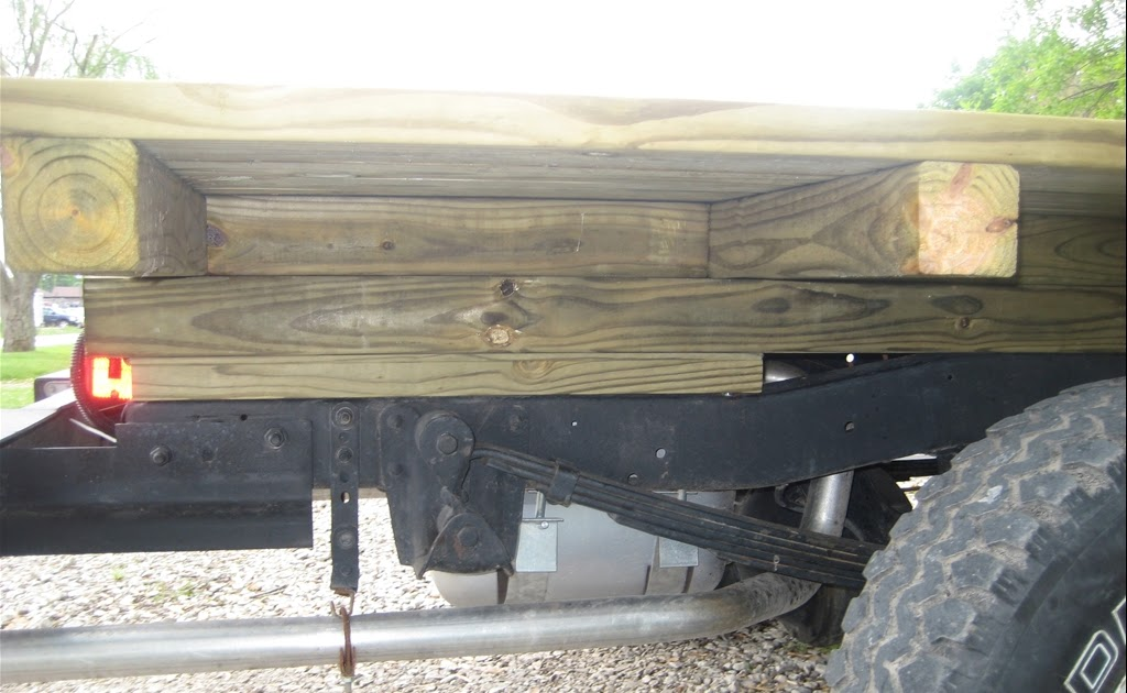 Choice Wooden Flatbed Plans Blog Wood