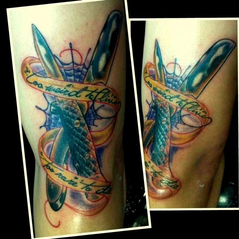 Get Inspired For Razor Blade Tattoos | Best Tattoo Design