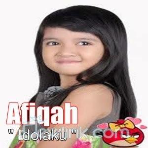 Lirik Afiqah - Idolaku