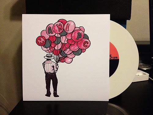 "Maniac - Dim Sum 7"" - White Vinyl (/150) by Tim PopKid"