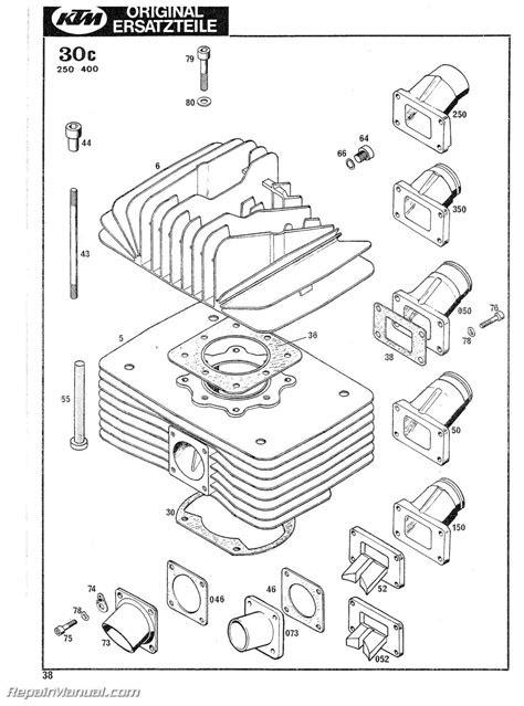 1978-1979 KTM 125 175 240 250 340 400 Motorcycle Engine