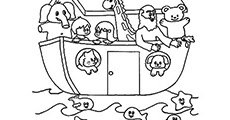 Free Printable Coloring Pages Noahs Ark
