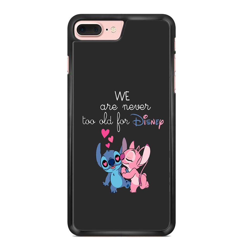Stitch And Angel Couple Disney Quotes For Iphone 7 Plus