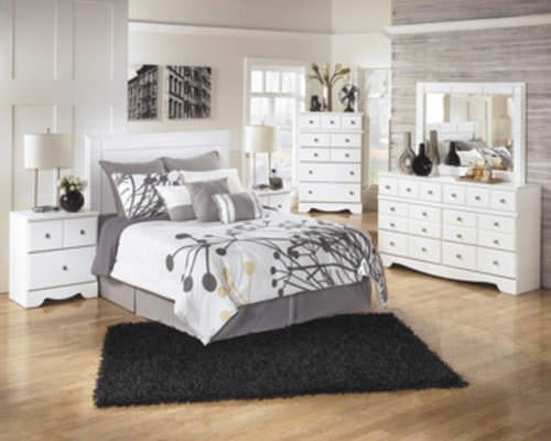 Ashley Furniture Queen Bedroom Set White