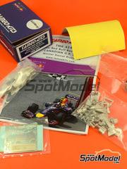 Maqueta de coche 1/43 Tameo Kits - RB10 Infiniti Nº 2 - Daniel Ricciardo - Gran Premio de Canada 2014 - kit de metal