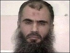 Abu Qatada, pictured in 2000