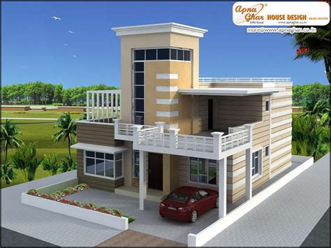 luxury duplex  floors house design area