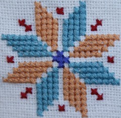 cross-stitch star