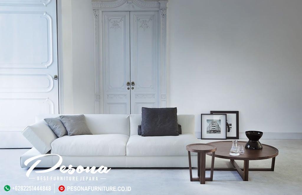 Sofa Tamu Minimalis Modern Santai Di Ruang Tamu Model Terbaru Pesona Furniture