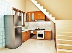 Dekorasi Desain Dapur Bawah Tangga Terbaru