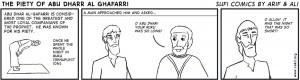 Sufi Comic: Abu Dharr's Piety