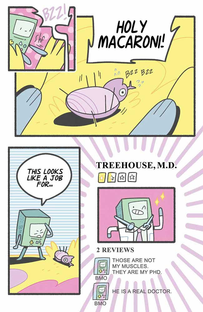 Adventure Time Bmo Bonanza Special Major Spoilers Comic Book